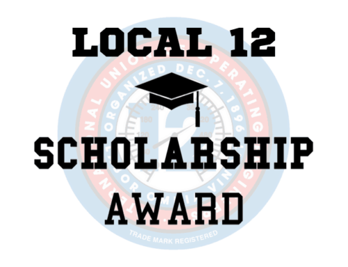 2021 SCHOLARSHIP COMPETITION FOR LOCAL 12 MEMBERS
