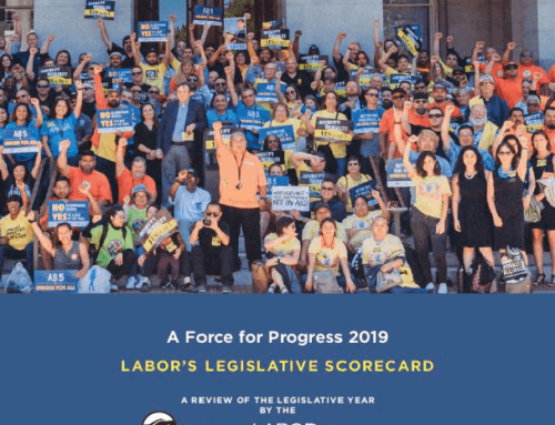 Labors Legislative Scorecard 2019