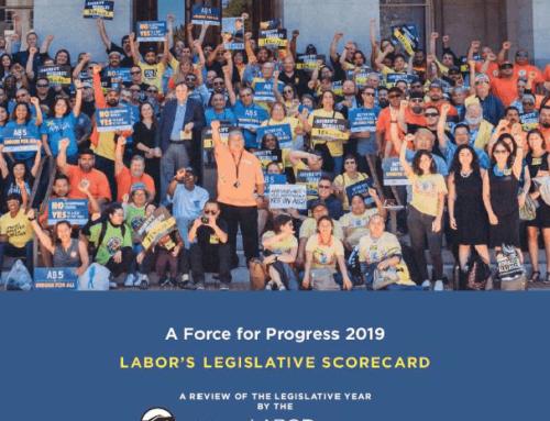 Labors Legislative Scorecard 2019