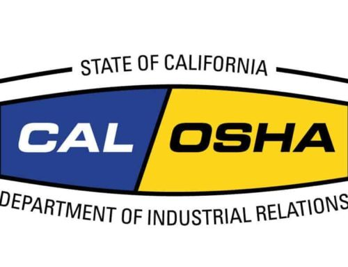 Cal OSHA Covid-19 Infection Prevention in Construction