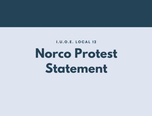 Norco Protest Statement