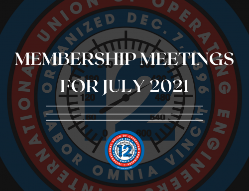 Membership Meetings for July 2021
